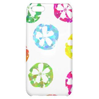 floral dot deigns iPhone 5C cases