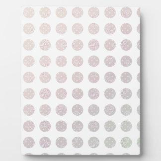 Floral Dots Plaque