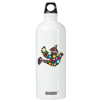 Floral Dove of flowers SIGG Traveler 1.0L Water Bottle