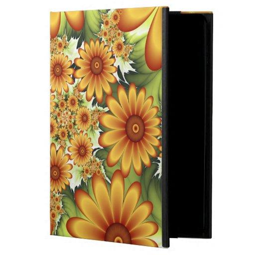 Floral Dream, Modern Abstract Flower Fractal Art Powis iPad Air 2 Case
