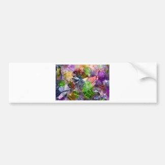 Floral Dream OF Beauty Bumper Sticker