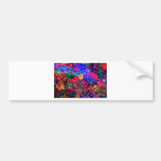 Floral Dream OF buzzer Bumper Sticker