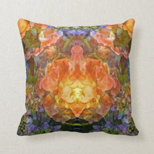 Floral Dream Throw Pillow