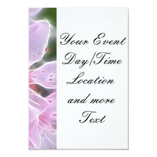 Floral Dreams 02 pink 3.5x5 Paper Invitation Card