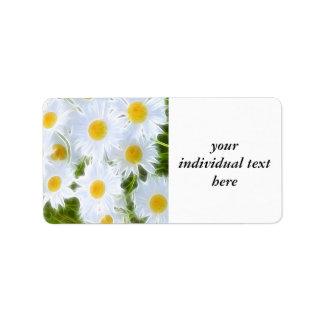 Floral Dreams 04 Address Label