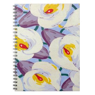 Floral Dreams #11 at Susiejayne Spiral Notebook
