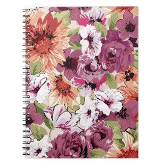 Floral Dreams #3 at Susiejayne Notebook