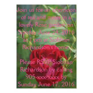 Floral Dreams-Invitation Card