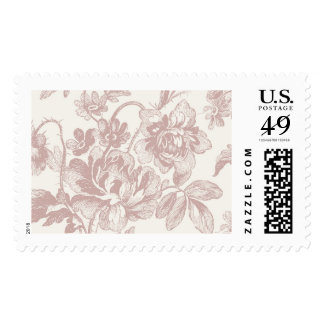 Floral Dusty Rose Peony | Atelier Isabey Stamps