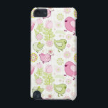 "Floral Easter Chicks iPod Touch 5G Cover<br><div class=""desc"">Pretty pastel chicks playing in a field of fun flowers</div>"