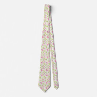 Floral Easter Chicks Tie