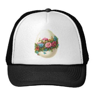 Floral Easter Egg Trucker Hat