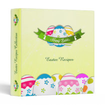 Floral Easter Eggs and Easter Wish Binder