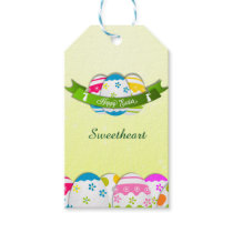 Floral Easter Eggs and Easter Wish Gift Tags