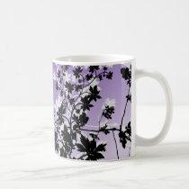 flower, flowers, floral, flora, flourish, garden, nature, art, design, gift, gifts, purple, mug, mugs, Mug with custom graphic design