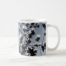 flower, flowers, floral, flora, flourish, garden, nature, art, design, gift, gifts, blue, mug, mugs, Mug with custom graphic design