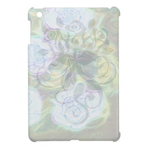 floral electrify funky design cover for the iPad mini