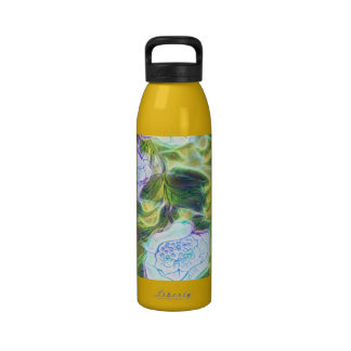 floral electrify funky design water bottles