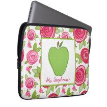 Floral Electronics Bag For Teachers