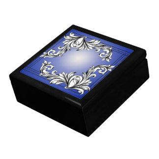 FLORAL ELEGANCE JEWELRY BOX