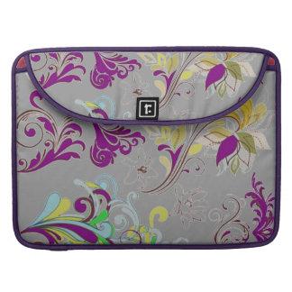 Floral elegant bold and stylish MacBook pro sleeve