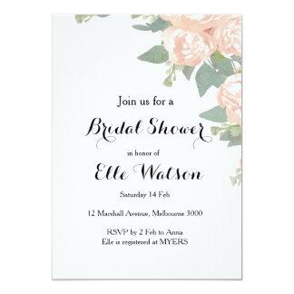 Floral Elegant Bridal Shower Invitation