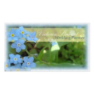 Floral elegante de la tarjeta de visita del planif