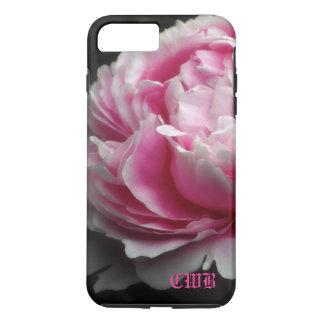 Floral elegante del Peony suave Funda iPhone 7 Plus