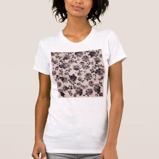 Floral elegante elegante de moda del vintage camisetas