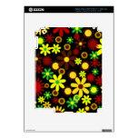 Floral elegante retro iPad 3 skin