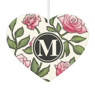 Floral elegante y monograma