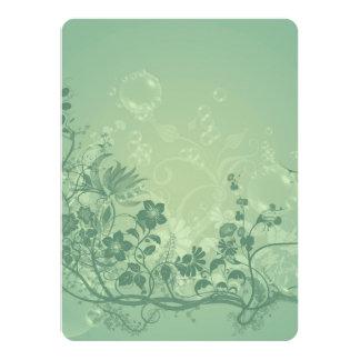 Floral elements card