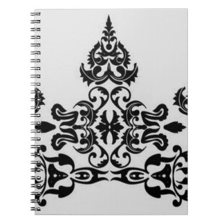 Floral elements note book