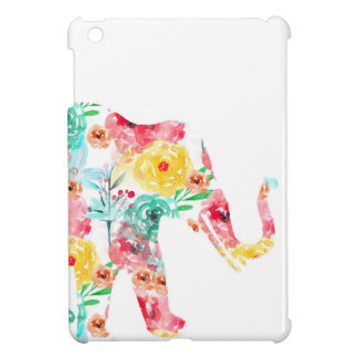 Floral Elephant Print Cover For The iPad Mini