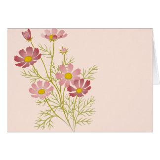 Floral en blanco todas las tarjetas de la ocasión