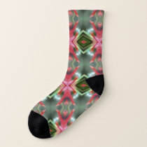 Floral Energy pattern Socks