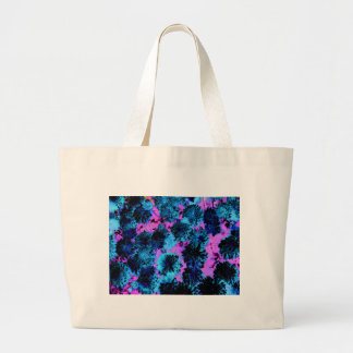 Floral Enigma 3 Large Tote Bag