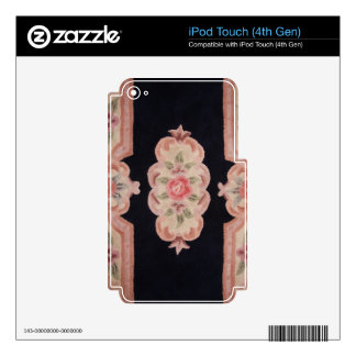 Floral esculpida skins para iPod touch 4G