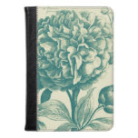 Floral Etchings Kindle Case