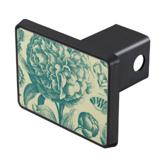 Floral Etchings Tow Hitch Cover