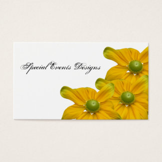 Floral Events Coordinator Business Card