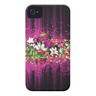 Floral Explosion Case-Mate iPhone 4 Cases