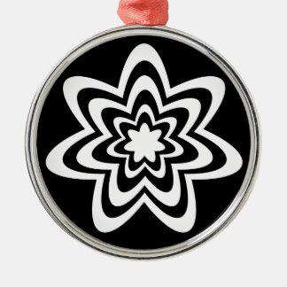 Floral Explosion Premium Round Ornament