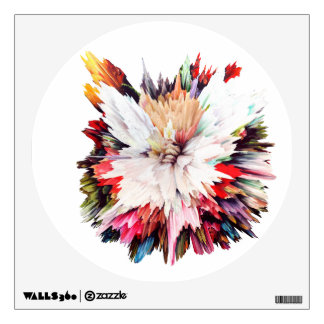 Floral Explosion Wall Sticker