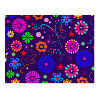 Floral Eye Candy Postcard