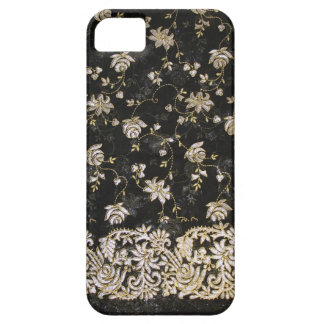 Floral Fabric Textile Design iPhone SE/5/5s Case