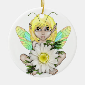 Floral Fairy Ornament