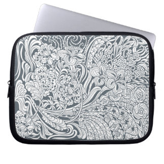 Floral Fancy Computer Sleeve