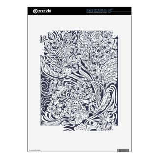 Floral Fancy iPad 2 Skin