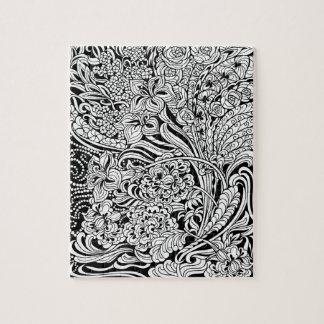 Floral Fancy Jigsaw Puzzle